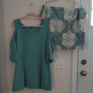 Torrid Skirt Set